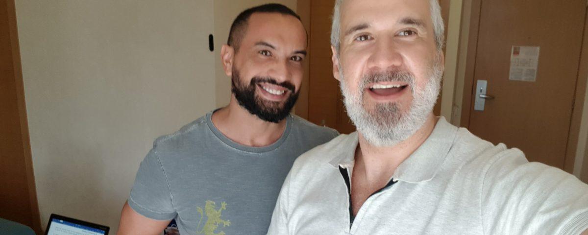 Eddie Fonseca e Mauro Galasso Leollo se encontram para podcast Terapia Sem Direcao 1200x480 - Vai ao ar o podcast: Terapia Sem Direção
